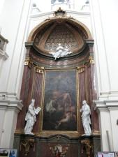 statues, catolich, church