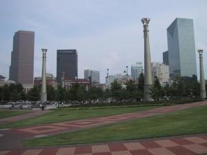 centenial, olympique, parc, centre-ville, Atlanta