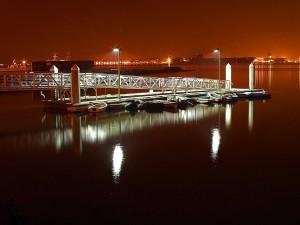 dock, San Diego, baie