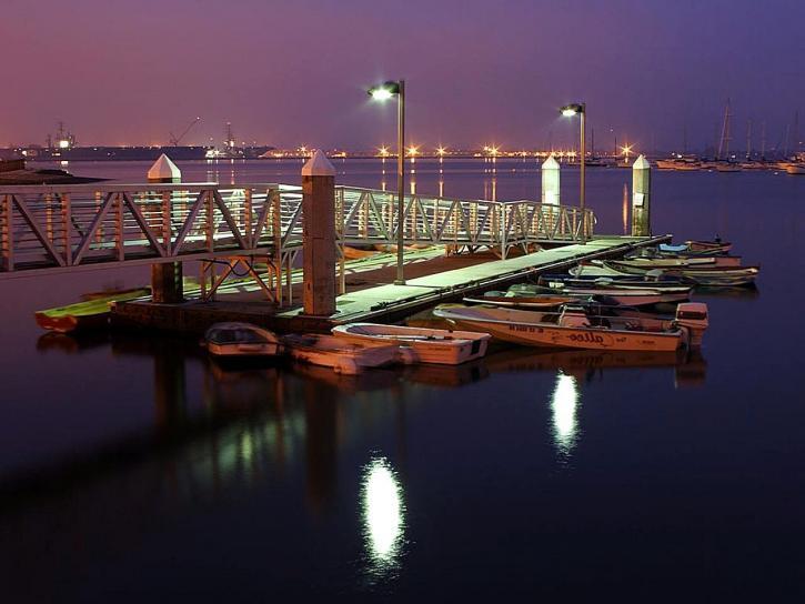 docks, baie
