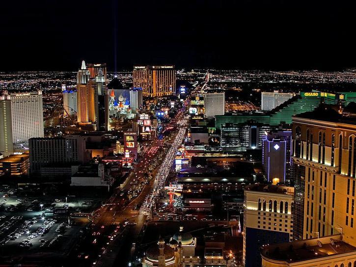 Vegas, downtown