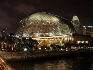 singapore, cultural, centre, night
