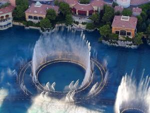 bellagio, nice, fountain