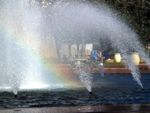 big, fountain, Balboa, park