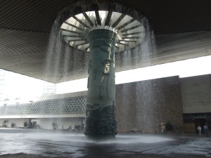 fountain, anthropological, museum