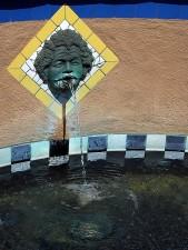 fountain, museum