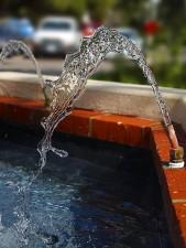 fontana, acqua, beccuccio
