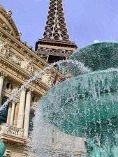 fountains, Eiffel, towers