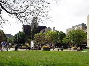 Медисън, университет, фонтан