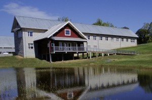 barn, cabin,buildings, national, conservation, training, center