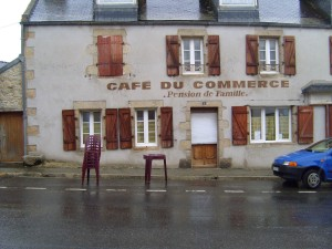 cafe, commerce, pansion, famille