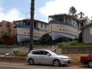 Encinitas, čamca, kuće
