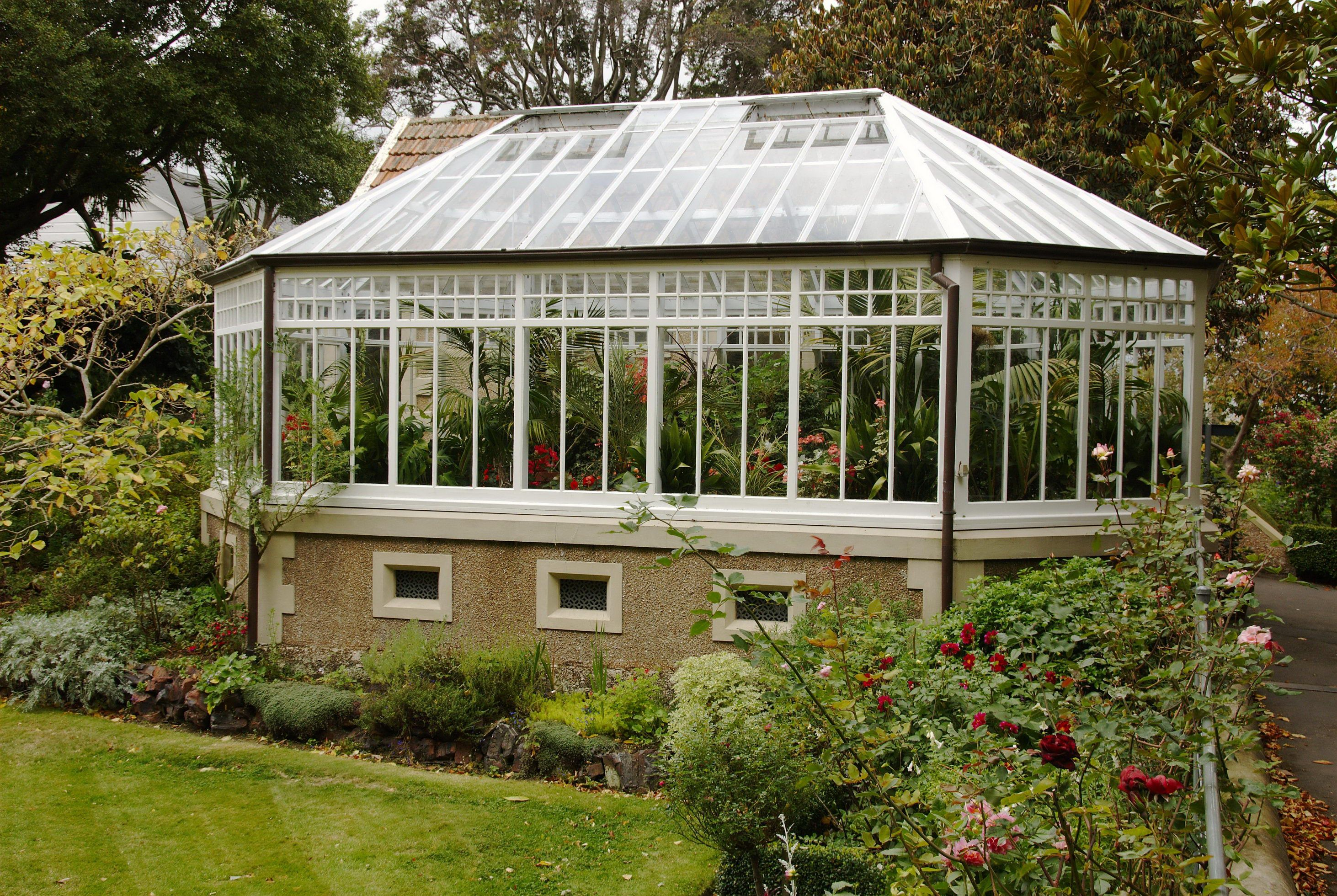 Free Picture Hothouse Glass House