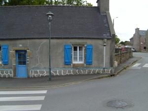house, corner, street