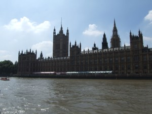 domy, parlament, Londýn