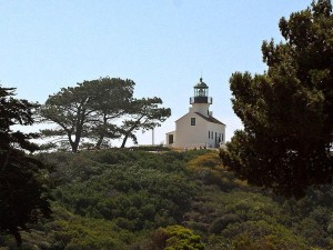 lighthouse, cabrillo, monument