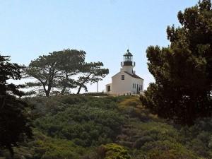 Latarnia morska, cabrillo, pomnik