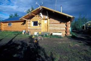 wooden, cabin, house