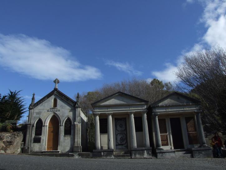 mausolées, Karori, cimetière, Wellington, Zealand
