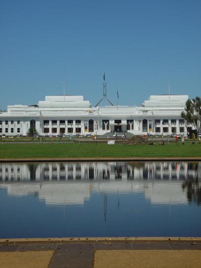 gamle, Parlamentet, hus, canberra