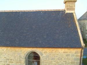 velho, telhado