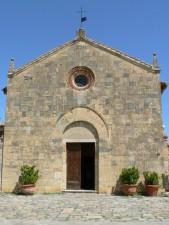 vieux, pierre, maison, église