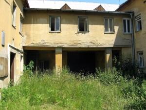 ruin, atrium