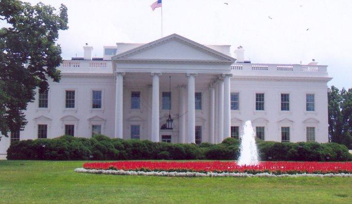 white, house, residence