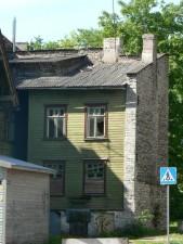 worn, house