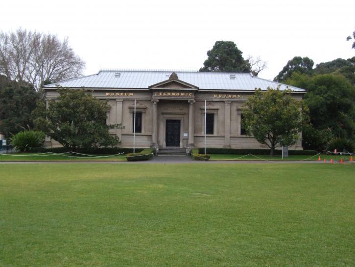 Museum, økonomiske, botanikk, Adelaide, hage