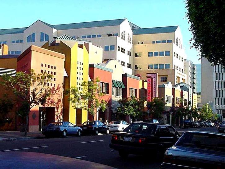 cool, street, hillcrest