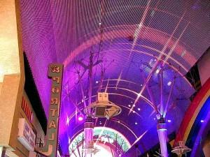freemont, rue, lumières