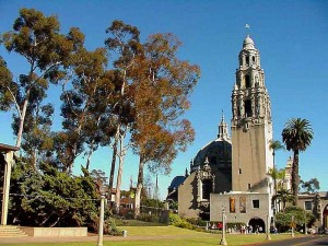 balboa, park, tower