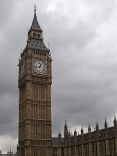 big, houses, parliament, London, tower, clock, popular, building