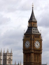 grand, Londres, horloge, tours, Westminster, abbaye