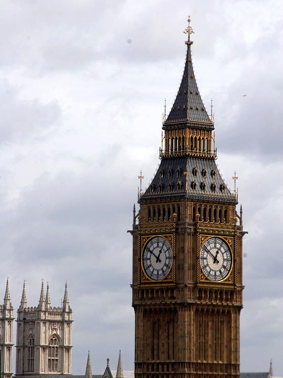 Free Picture Big London Clock Towers Westminster Abbey