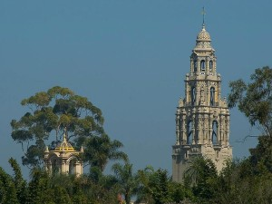 californie, tour, San Diego
