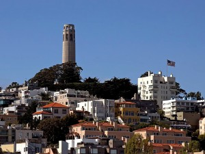 coit, tower, telegraph, hill, Francisco