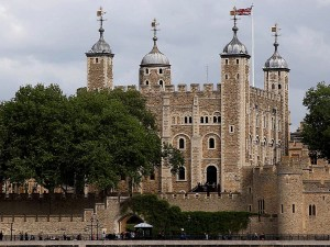 tour, Londres, Angleterre, rivière, Tamise