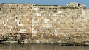 byblos, fort, wall