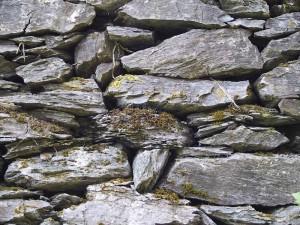 muur, stenen