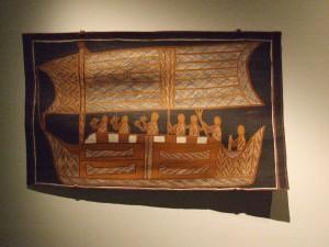 aborigeno, arte, Adelaide, museo, Australia