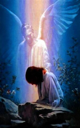Kostenlose Bild Engel Gebet
