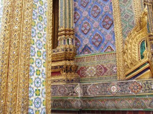 árabe, pared, arte
