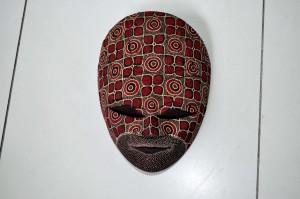 künstlerisch, dekorativ, Maske, Hand, Arbeit