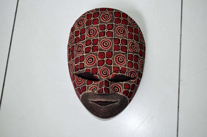 artistic, decorative, mask, hand, work
