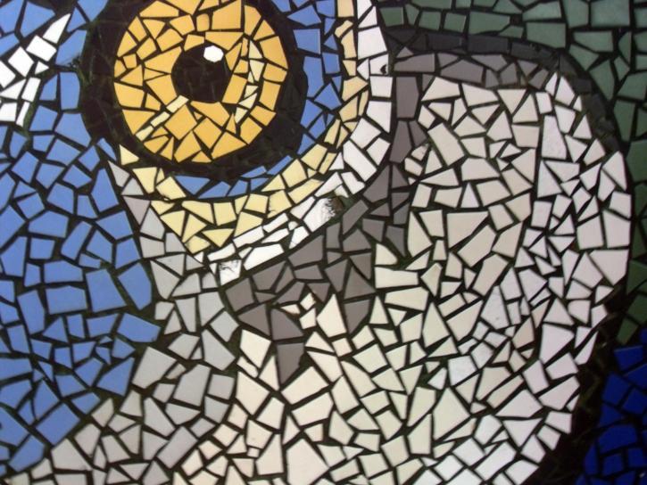 mozaika, detal