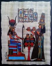 papyrus, Egyptian, motifs