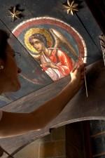 помирение, възстановяване, осветяване, Cypruss, богат, културен, наследство