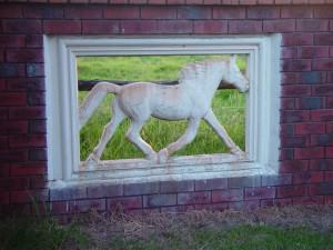 cheval, fonctionnalité, passerelle, Hopelands